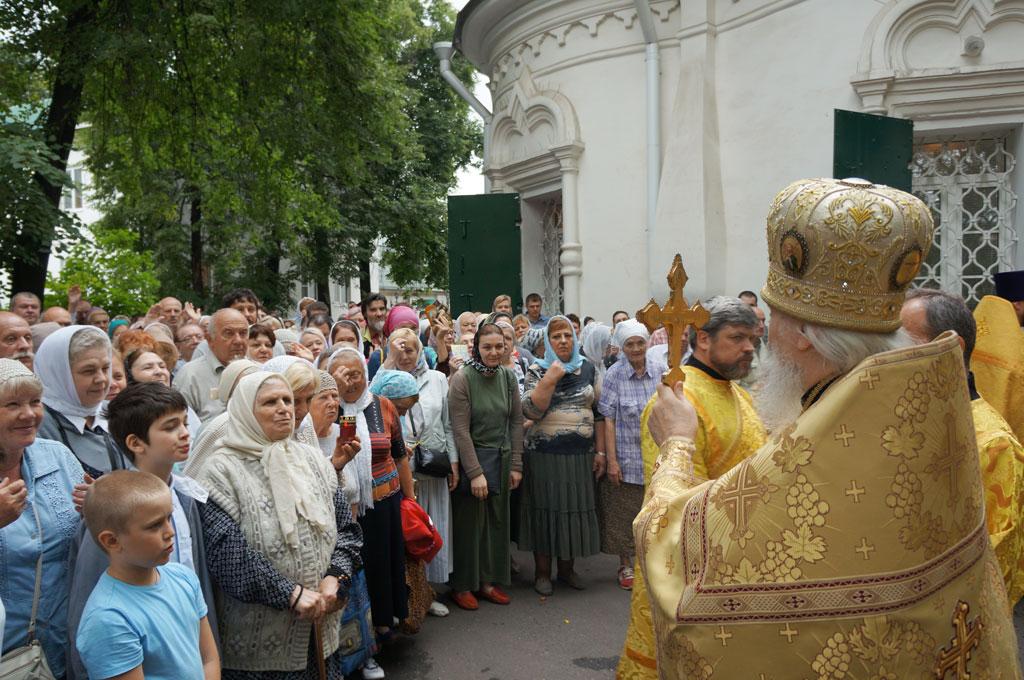 В Петропавловском благочинии в день престольного праздника прошли торжества