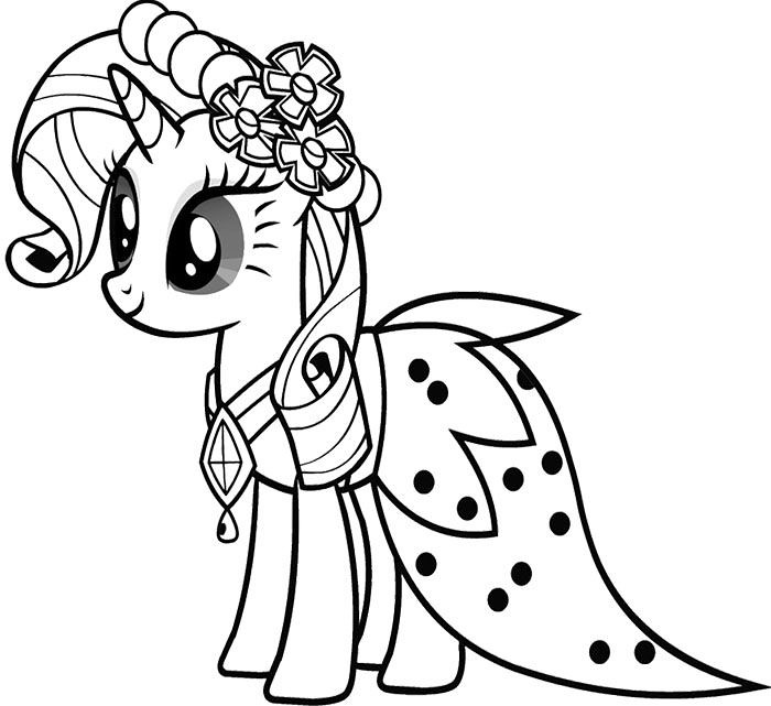 My Little Pony Coloring Pages Rarity | Free image Cute Baby … | Flickr