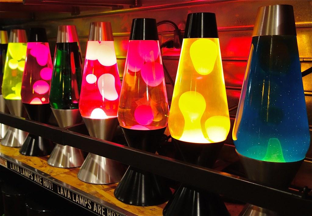 lava lamps | Dean Hochman | Flickr