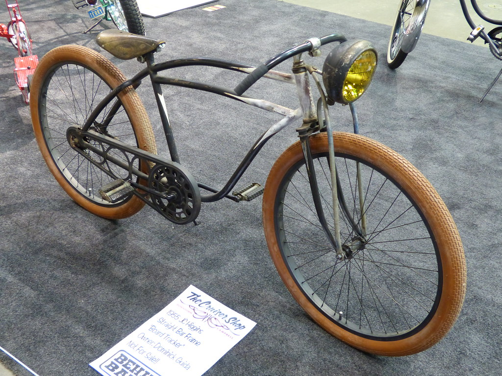 Bikes 1955 JC Higgins Board Tracker