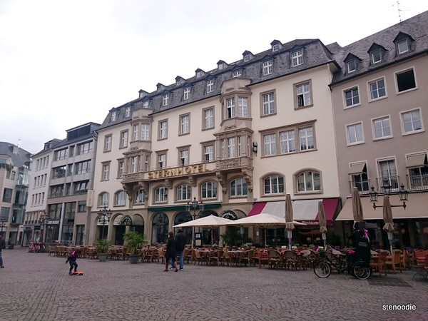 The Market Square in Bonn