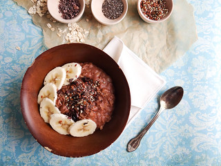 Peanut Butter Banana Oatmeal // SMBP | by heatherpoire