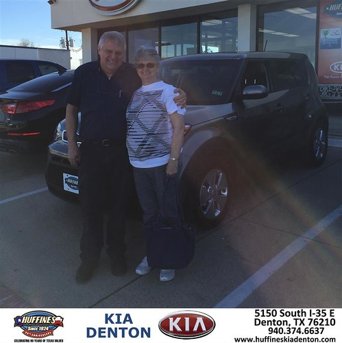 Congratulations To Kay Ahrens On Your Kia Soul Purchase