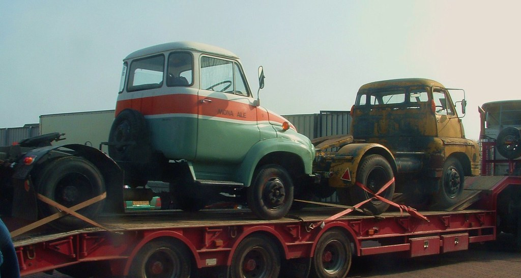 Ford Thames Trader K Type tractor unit and Bedford S Type … | Flickr