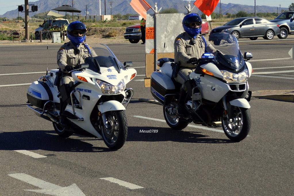 arizona dps, highway patrol, honda and bmw motors | ofc. bry… | flickr