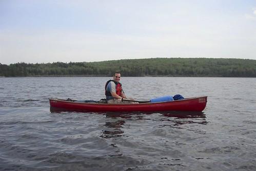 Crossing Holeb Pond - Erik