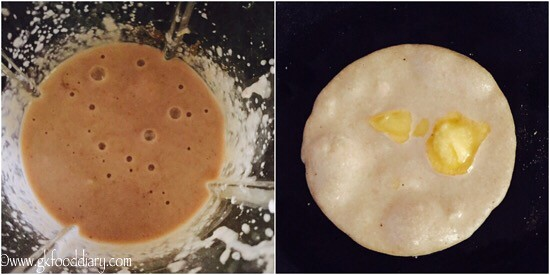 Sweet Bread Dosa Recipe for Toddlers and Kids