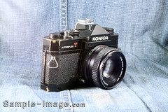 Konica Hexanon AR 50mm f/1.8
