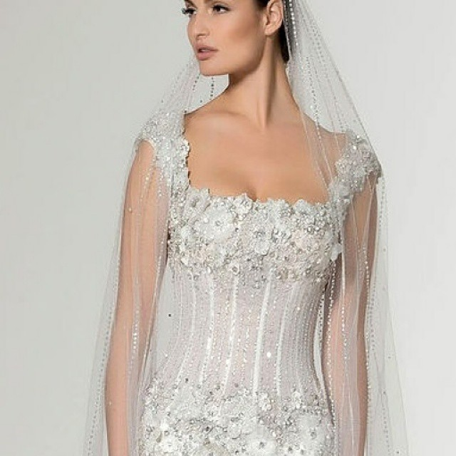 Beaded Corset Style Wedding Dress | Beaded Corset Style Wedd… | Flickr