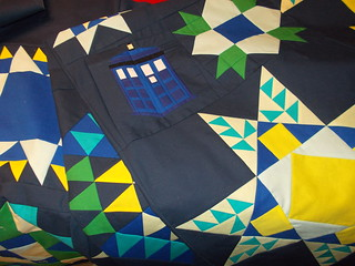 TARDIS block | by Piecemeal Quilts