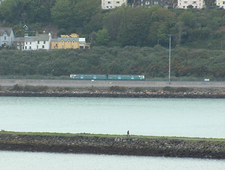 Class 150 between Fishguard & Goodwick and Fishguard Harbour stations
