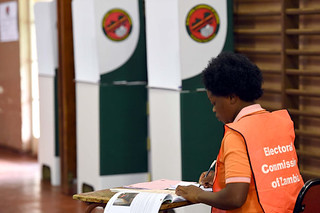 Southern African Development Community Electoral Observation Mission media briefing visits polling stations in Zambia, 22 Jan 2015 | by GovernmentZA