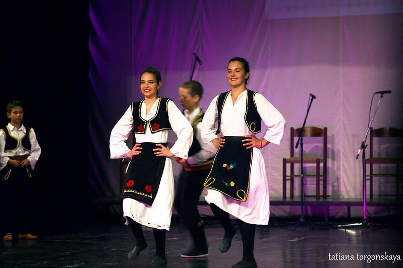 """Выступление KUD """"Zora Hercegovine"""""""