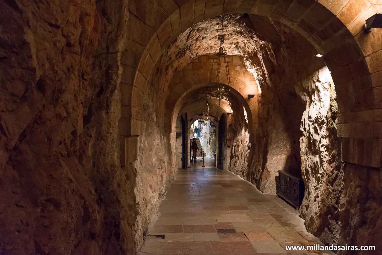 Interior de la Santa Cueva
