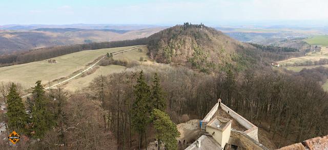 Velikonoční hrad Buchlov / Hrad Buchlovov at Easter