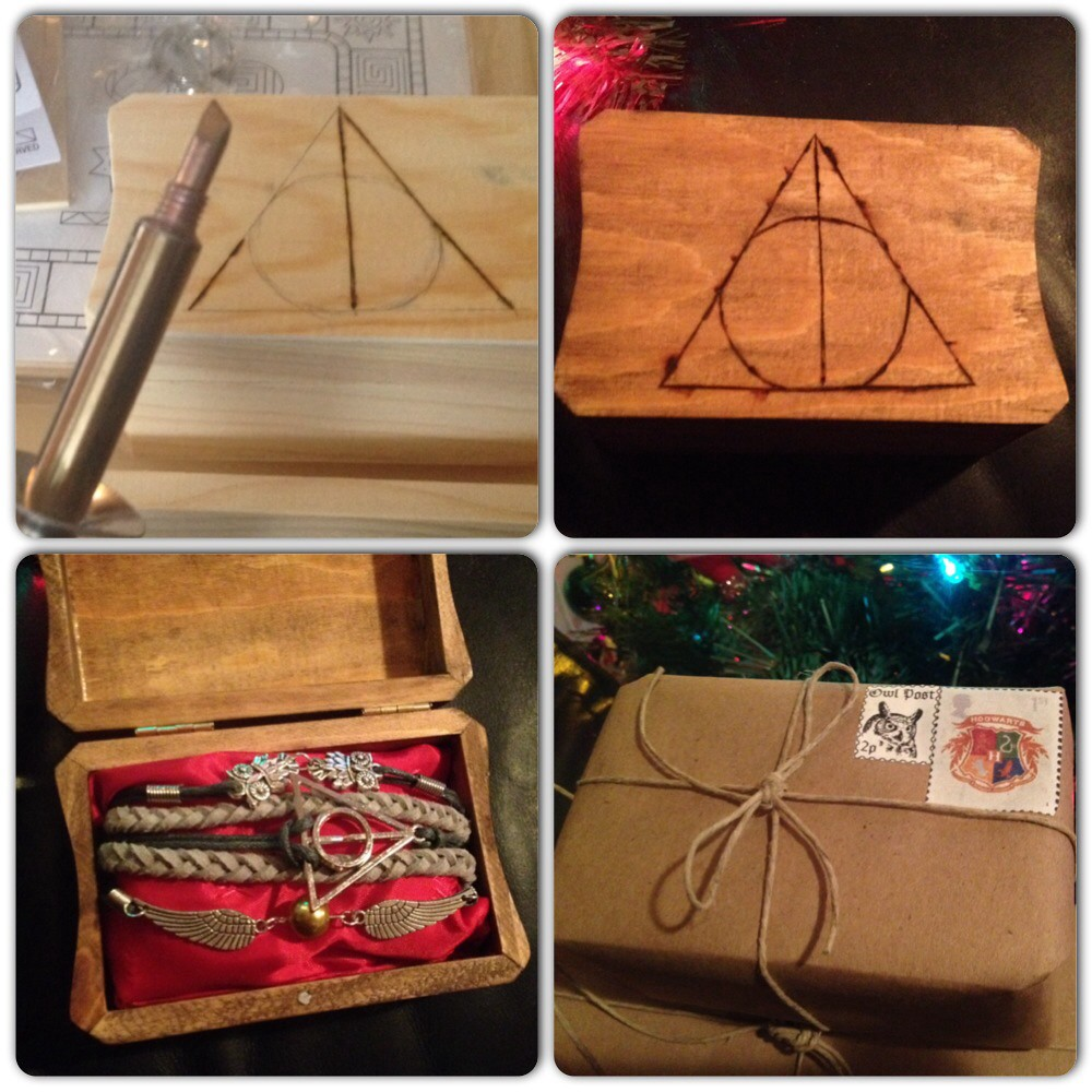 Harry Potter Gift | I made this Harry Potter jewelry box for… | Flickr