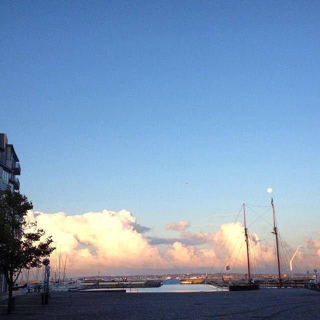 cloudmanian morning, helsingborg