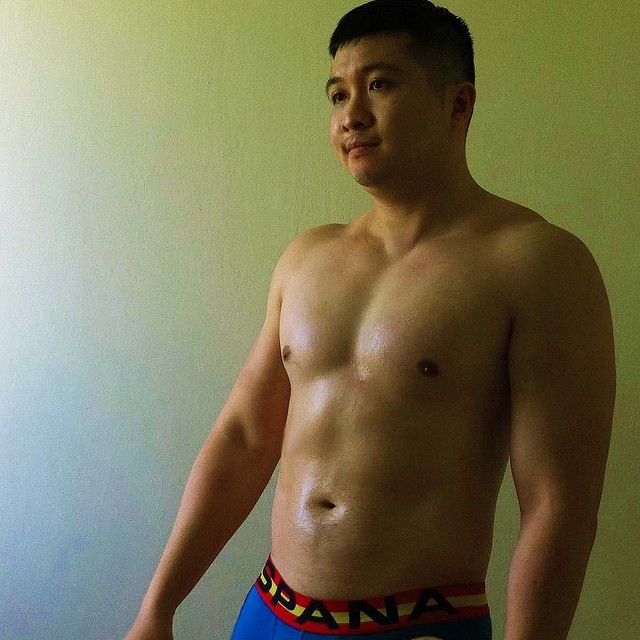 asian muscle men Smooth