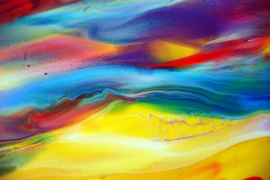 Calm Fluid Colours | By Markchadwickart Calm Fluid Colours | By  Markchadwickart