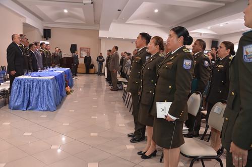 On el fin de buscar un bienestar policial el mejoramiento for Ministerio del interior policia nacional del ecuador