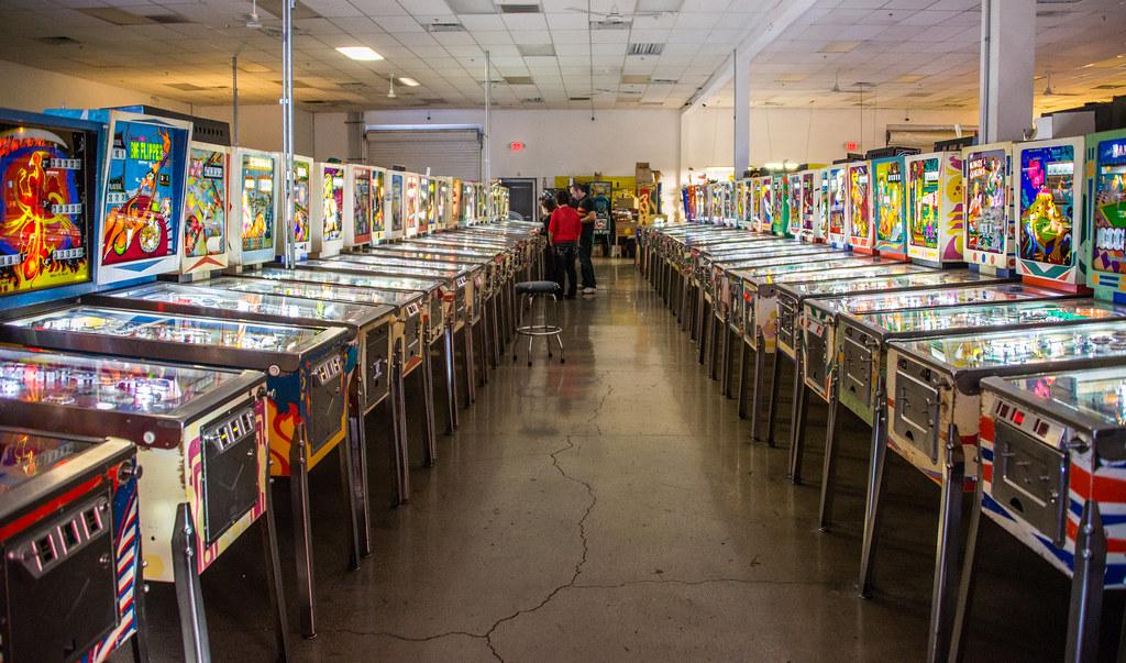The Pinball Hall of Fame