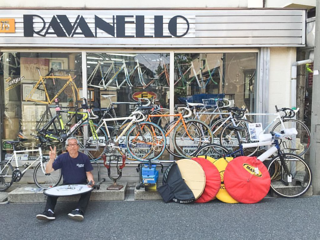 here is a bike shop ravanello he takamura s bike builder flickr