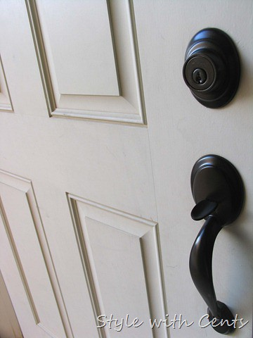 She Spray Painted All Her Door Knobs With Rustoleum Oil Ru