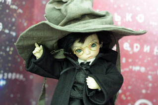as a Harry Potter in Sorting hat. Won a prize on BJD-party | by SareJolim