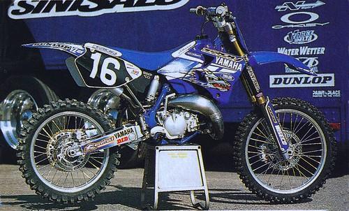 1999 yamaha of troy yz125 of casey johnson tony blazier for Yamaha of troy