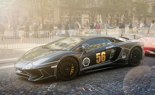 GUMBALL 3000 - Lamborghini Aventador SV / no. 56   SONY ...