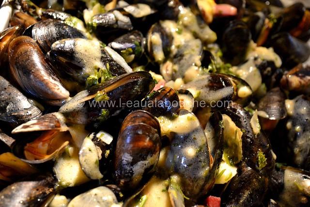 Moules au Jambon & sa Sauce © Ana Luthi Tous droits réservés 14