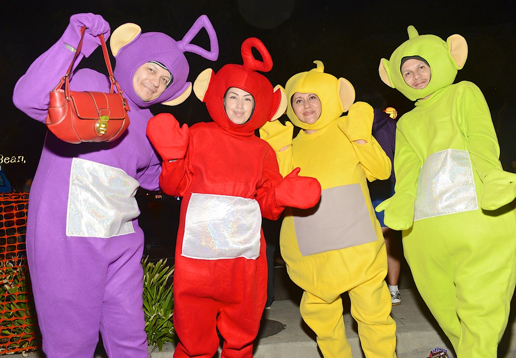 2014 halloween west hollywood teletubbies by bloodyeyeballs