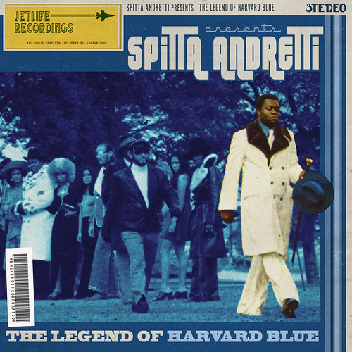 Curren$y - Legend Of Harvard Blue (Front) | by fortyfps
