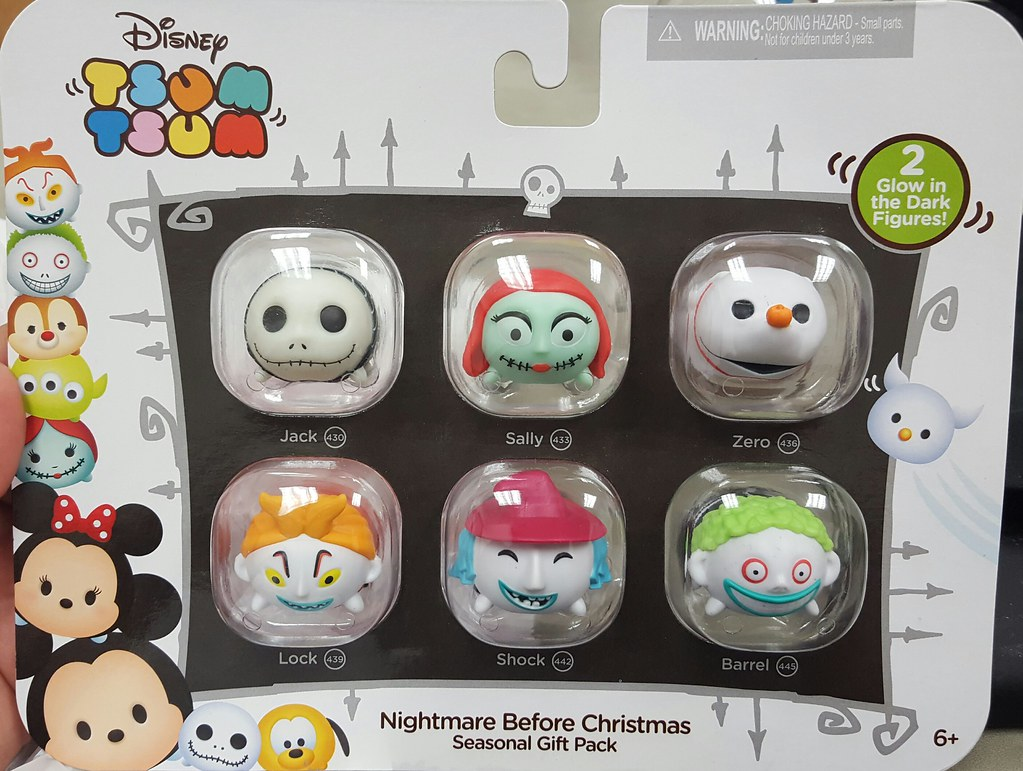 Nightmare Before Christmas Tsum Tsums | I finally found them… | Flickr