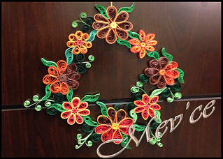 quilled wreath | by Mev'ce
