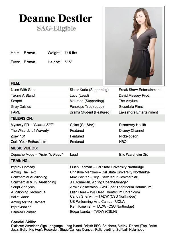 Modeling Resume | Resume Cv Cover Letter