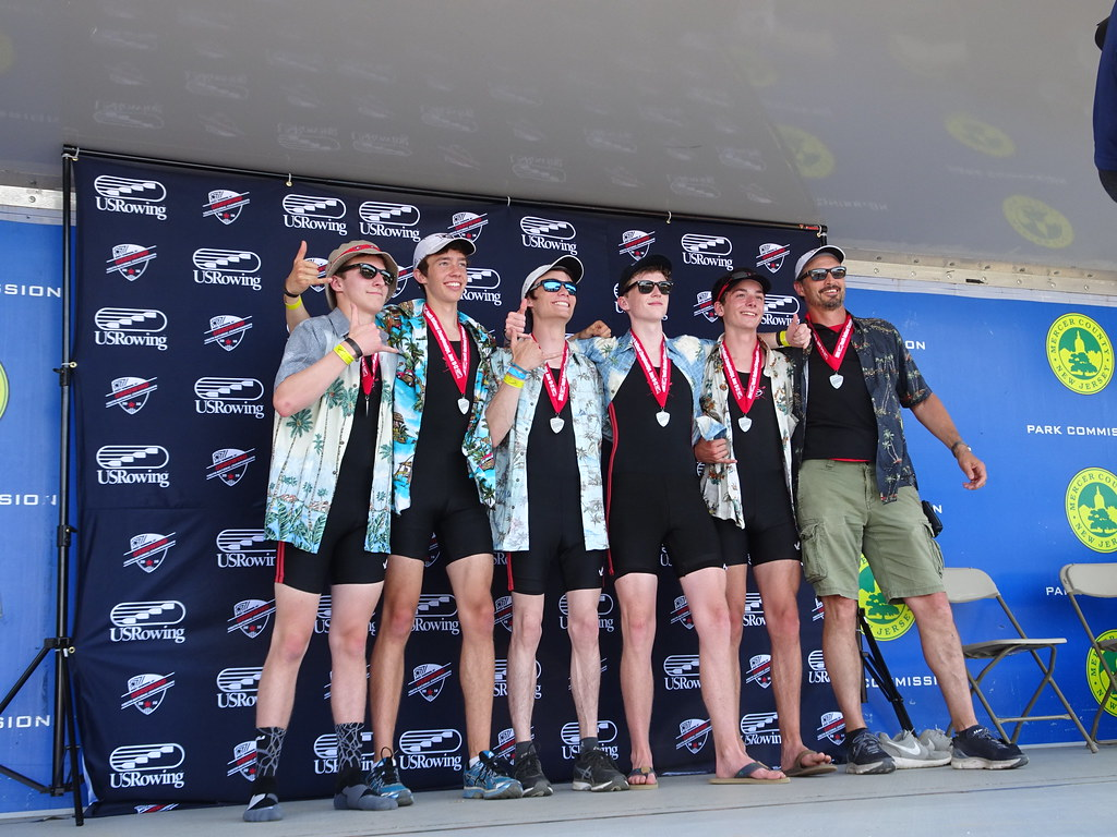 2016 US Rowing Youth Natls - SILVER for Rye!