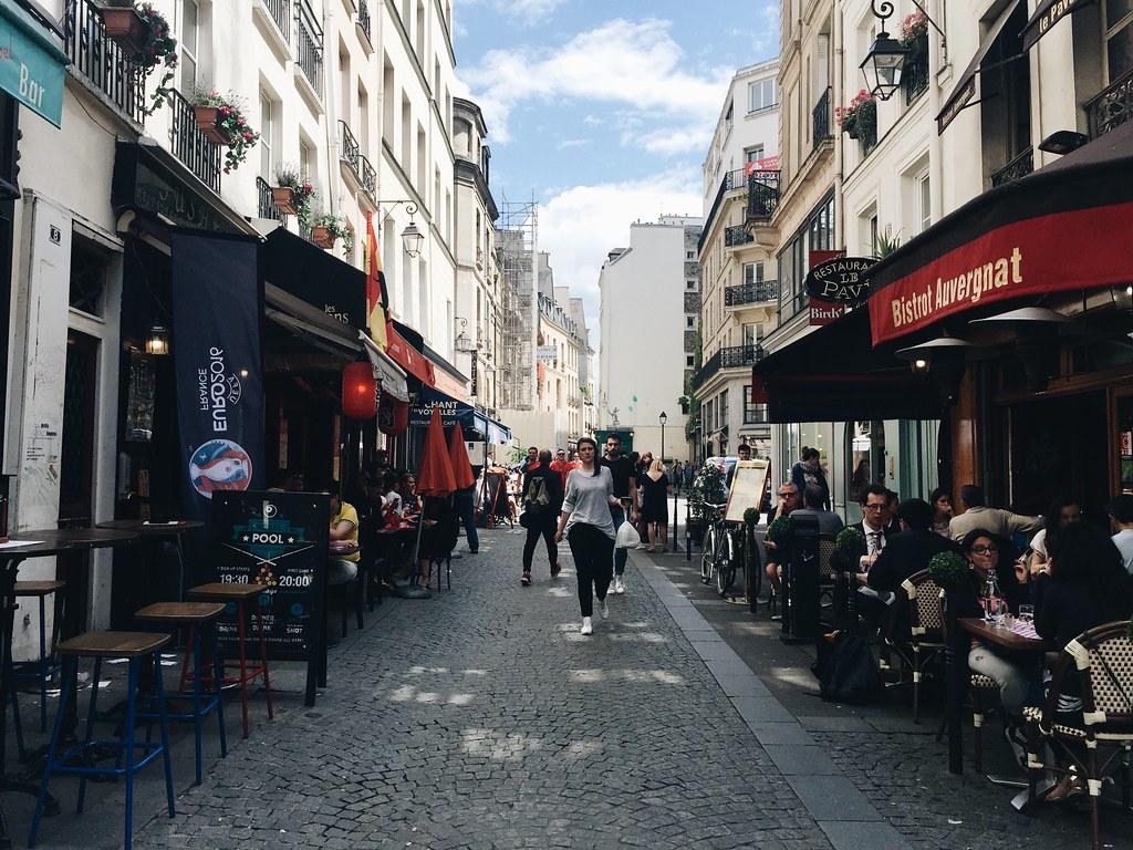 Paris 2016 wander streets