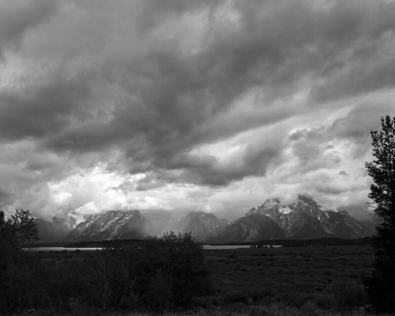 8x10 Tetons  bw Grand Teton National Park  IMG_6930