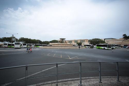Capolinea bus a Floriana