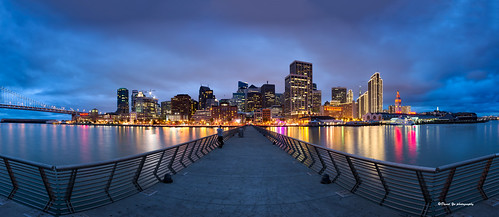City Night Colors - San Francisco | by davidyuweb
