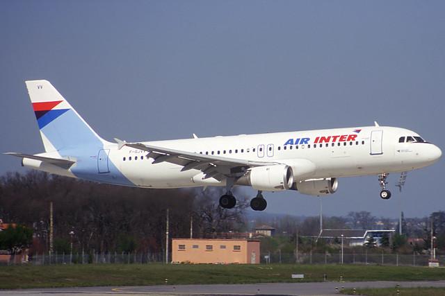 Air Inter A320-211 F-GJVV TLS 02/04/1995