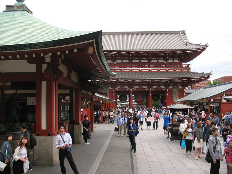 Tokyo, Senso-ji Temple