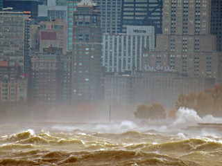Chicago gale. With telephoto lense. 10/31/14 | by photophan57