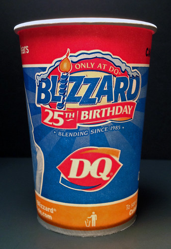 Dairy Queen Blizzard 25th Birthday Cup | 2010 | Todd ...