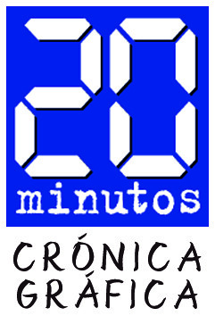 Logo 20Minutos: Crónica Gráfica | by Miquel Fuster
