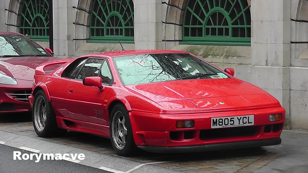 1994 Lotus Esprit It Kept The Lotus Company Afloat Through Flickr