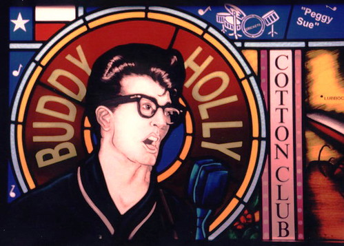 Buddy Holly1 | by Northern Art Glass