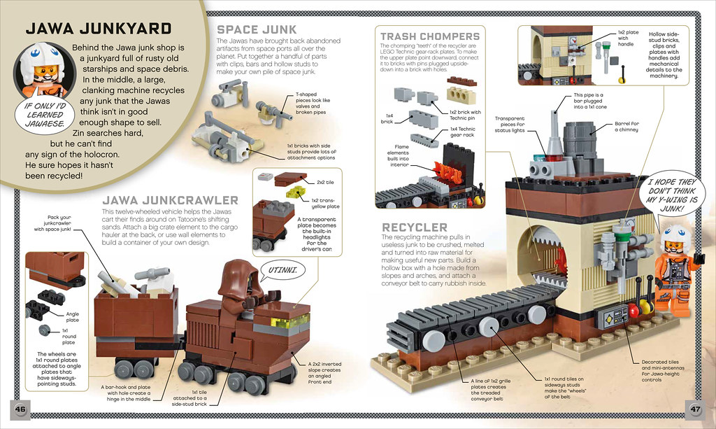 LEGO Star Wars Build Your Own Adventure book - Jawas | Flickr