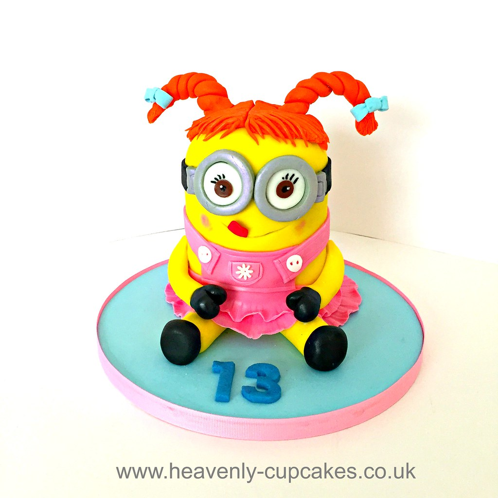 Minion Birthday Cake Heavenly Cupcakes Flickr